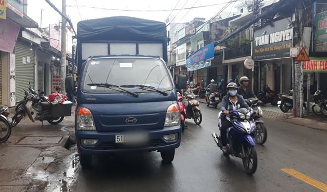 Cô gái 16 tuổi ở Sài Gòn tử vong giữa trời mưa, khi đang trên đường lo hậu sự cho bà ngoại - Ảnh 1.