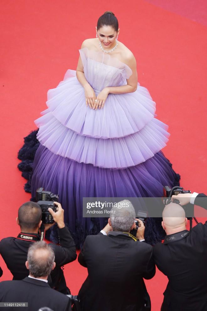 Muốn lịm đi với màn tập hợp váy công chúa ngày khai mạc Cannes 2019, bộ nào cũng bồng bềnh thần tiên quá đỗi - Ảnh 3.
