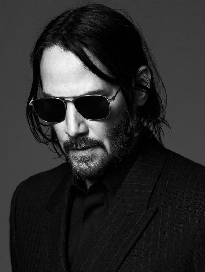 """Không còn là """"Keanu chán đời"""", tài tử Keanu Reeves giờ đã là gương mặt đại diện """"chất như nước cất"""" của Saint Laurent - Ảnh 4."""