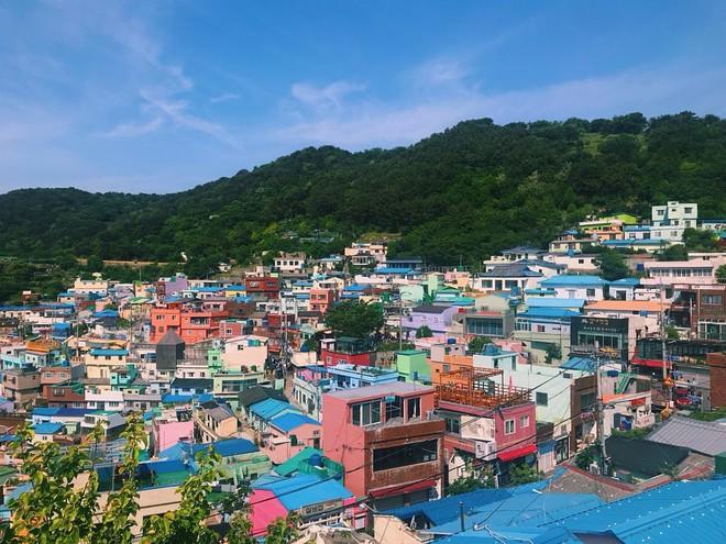 Làng cổ Gamcheon: Từ một khu ổ chuột trở thành Santorini của Hàn Quốc - Ảnh 3.