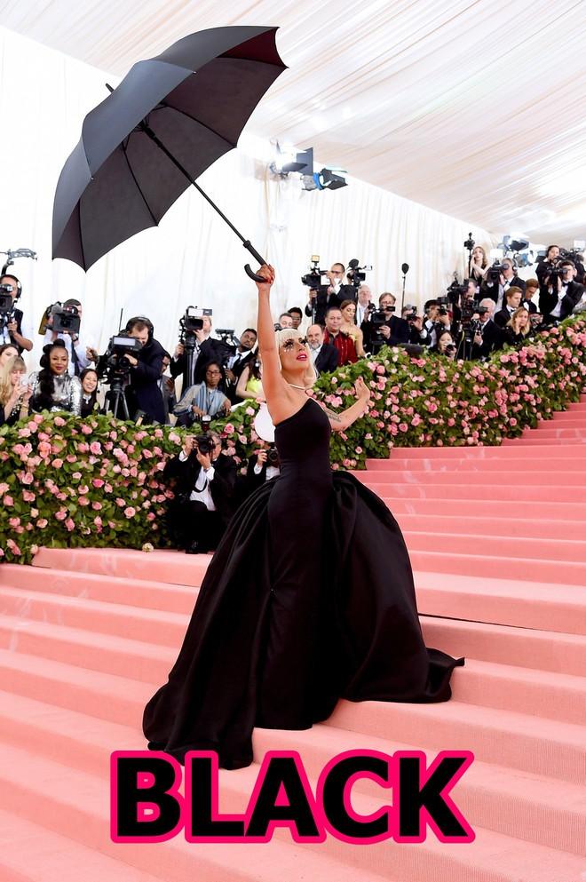 Tại Met Gala năm nay, bạn có nhìn thấy Lady Gaga trong bảng màu BLACKPINK in your area? - Ảnh 3.
