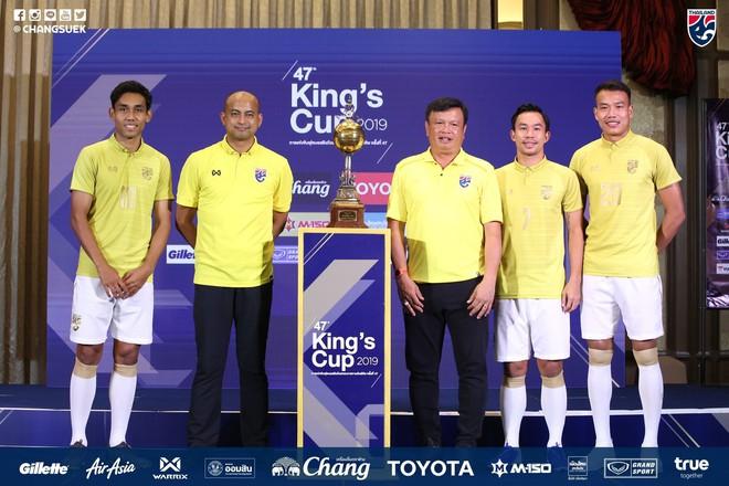 Thái Lan tỏ ra rất quyết tâm trong trận đấu gặp Việt Nam tại giải giao hữu tới đây.