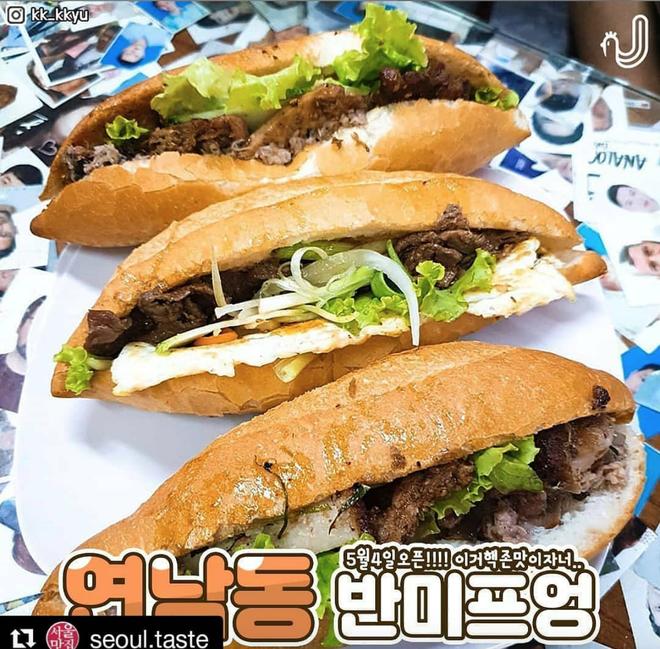 Món Việt vươn tầm quốc tế: đã có thêm bánh mì Phượng Hội An đến với Hàn Quốc - Ảnh 7.