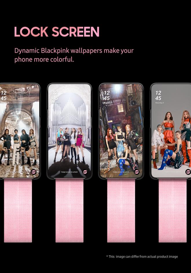 """Ngắm smartphone phiên bản BLACKPINK chất hơn nước cất, đích thị """"hàng nóng"""" của Samsung - Ảnh 2."""