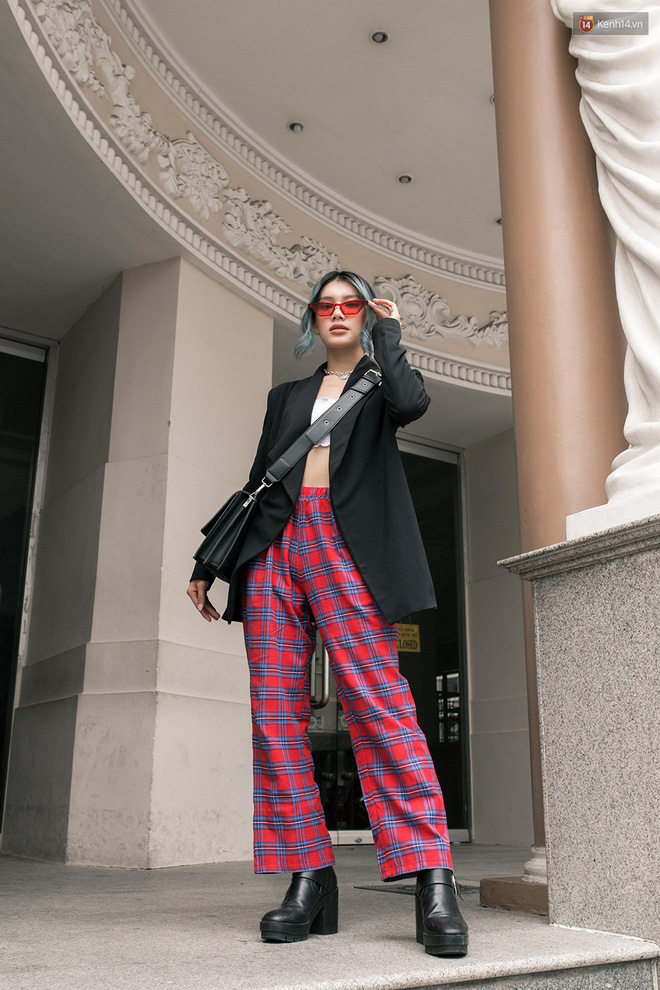 Street style giới trẻ Việt tuần qua: chẳng ưu tiên đồ mát mẻ, các bạn trẻ bất chấp mặc ngốt miễn sao có hình OOTD thật chất - Ảnh 15.