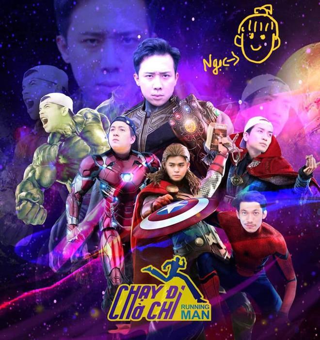 Running Man Hàn và Việt đồng loạt hóa Avengers, nhân vật của Lan Ngọc là nổi bật nhất! - Ảnh 2.