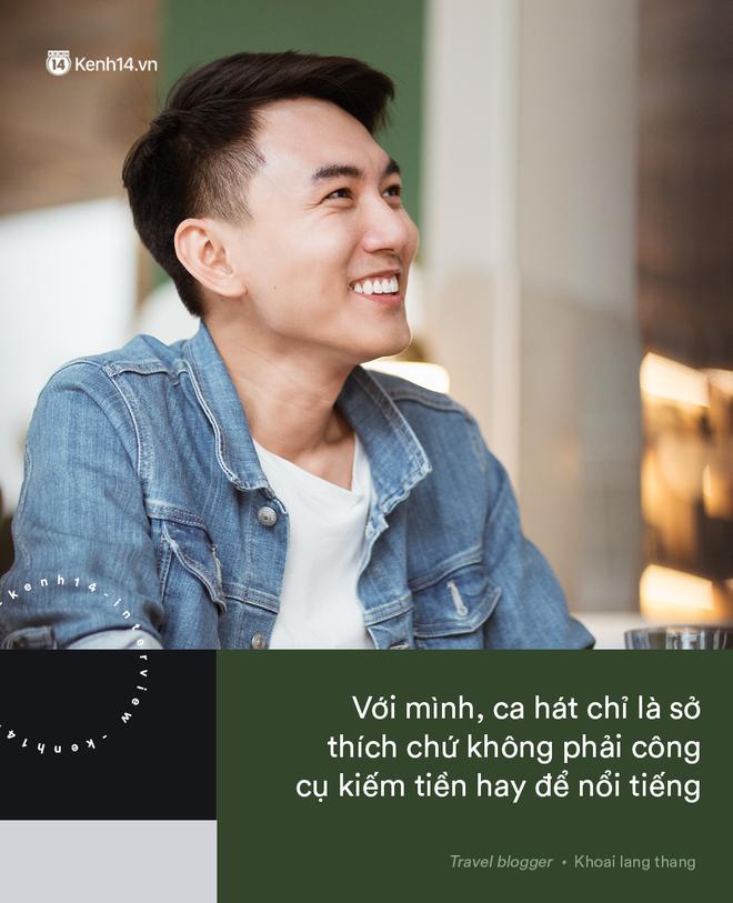 Blogger điển trai Khoai Lang Thang tiết lộ từng bị lừa tiền năm 18 tuổi, giàu hơn rất nhiều khi bỏ nghề kỹ sư để làm du lịch - Ảnh 16.