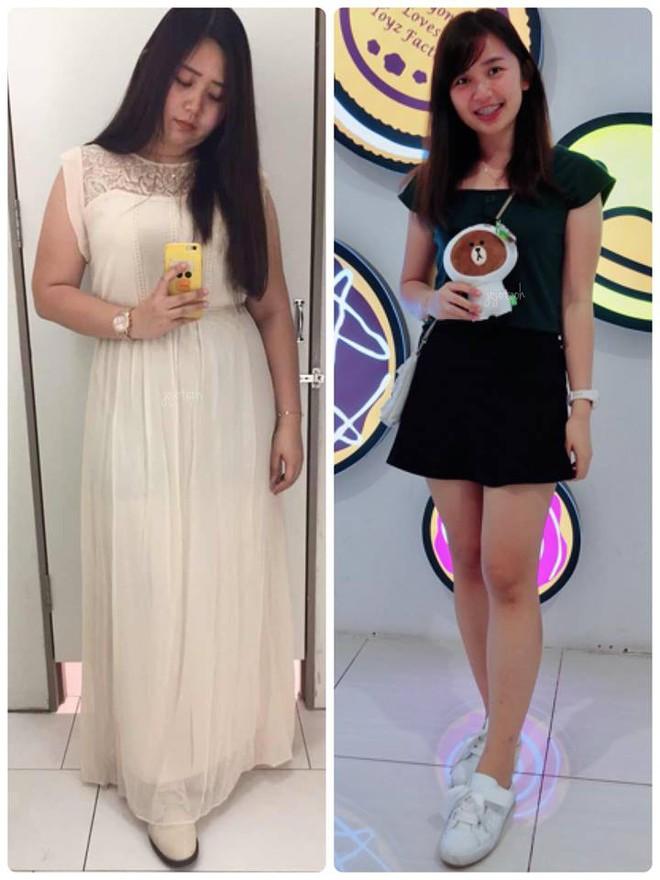 Giảm liền tù tì 30kg trong một năm, cô gái mũm mĩm hoá girl xinh khiến bạn bè không nhận ra - Ảnh 2.