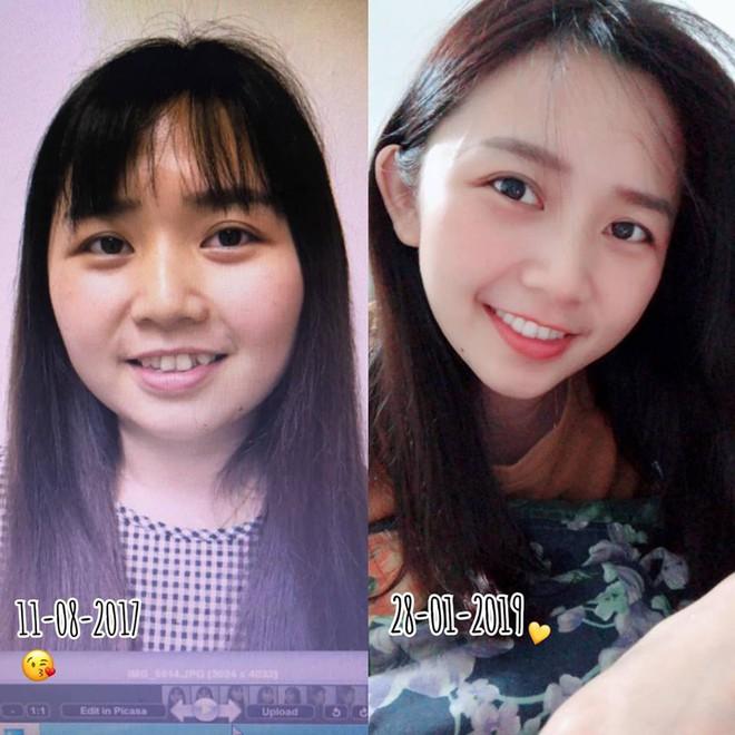 Giảm liền tù tì 30kg trong một năm, cô gái mũm mĩm hoá girl xinh khiến bạn bè không nhận ra - Ảnh 4.