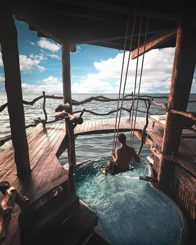 Resort trên cây ở Mexico: Có cả trăm góc sống ảo đẹp tung chảo nhưng chỉ dành cho khách du lịch trên 18 tuổi - Ảnh 10.