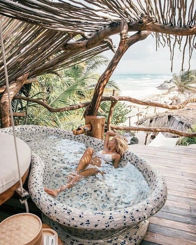 Resort trên cây ở Mexico: Có cả trăm góc sống ảo đẹp tung chảo nhưng chỉ dành cho khách du lịch trên 18 tuổi - Ảnh 4.