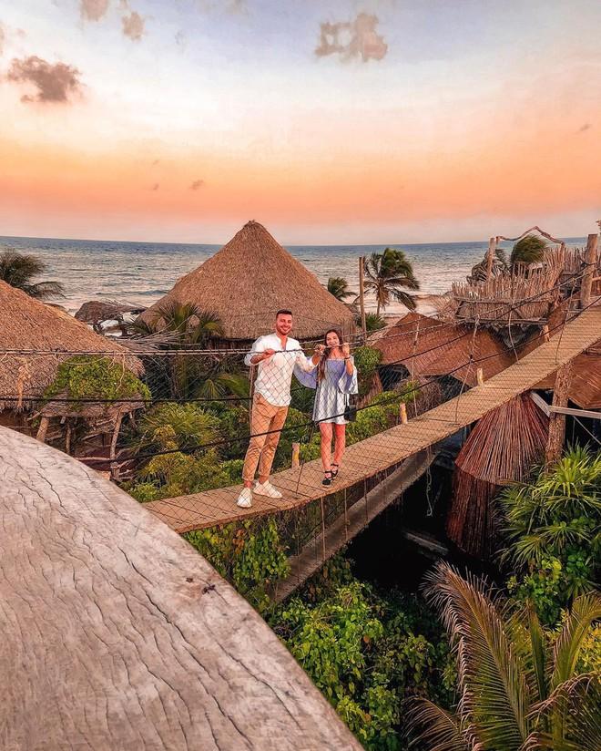 Resort trên cây ở Mexico: Có cả trăm góc sống ảo đẹp tung chảo nhưng chỉ dành cho khách du lịch trên 18 tuổi - Ảnh 1.