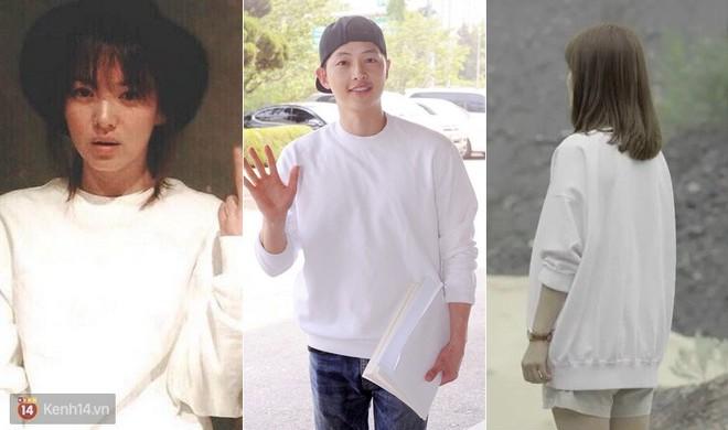 Song Joong Ki - Song Hye Kyo ly hôn rồi, dân tình sẽ không bao giờ được thấy họ mặc đồ ăn ý như thế này nữa - Ảnh 1.