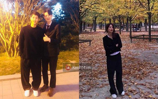 Song Joong Ki - Song Hye Kyo ly hôn rồi, dân tình sẽ không bao giờ được thấy họ mặc đồ ăn ý như thế này nữa - Ảnh 4.