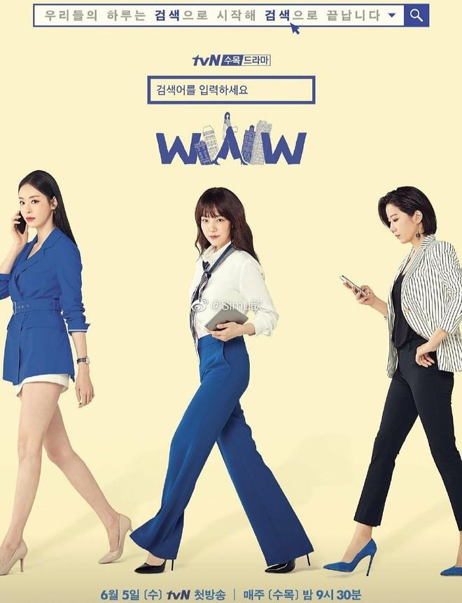 """5 lí do phải xem ngay """"Search: WWW"""" - Ba chị đại """"cung đấu"""" vì top đầu ngầu  nhất màn ảnh Hàn 2019"""