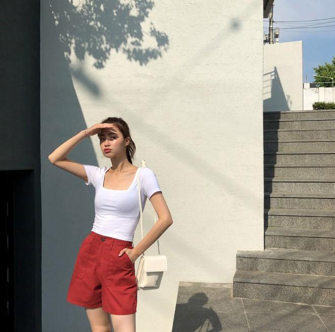Như một thói quen: Ngày nắng nóng là chị em thi nhau lên đồ với 4 kiểu quần shorts xinh xắn, trendy này - Ảnh 4.