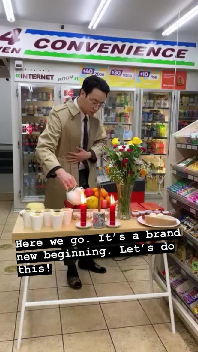 Rocker Nguyễn bỏ showbiz sang Úc mở quán trà sữa, ngày khởi đầu vẫn toát ra thần thái ngút ngàn - Ảnh 1.
