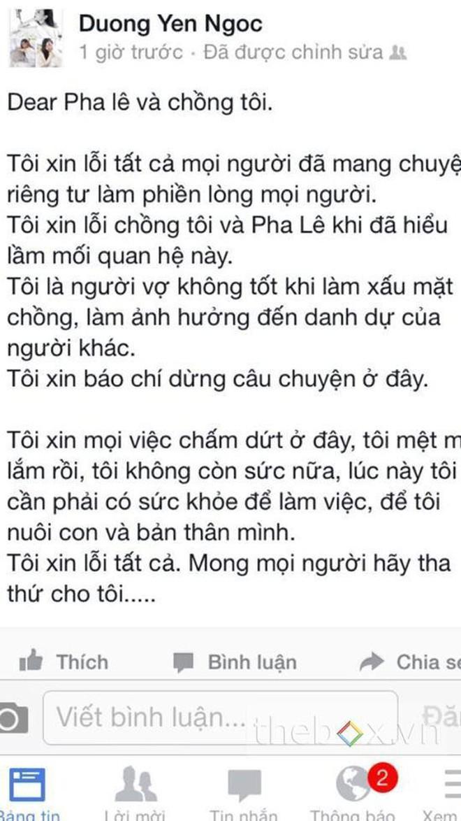 """Chơi Facebook như Dương Yến Ngọc: Hết """"bắt mạch online"""" phán Nam Em trầm cảm, lại trổ tài xem tướng cho Việt Anh khi thẩm mỹ - Ảnh 7."""