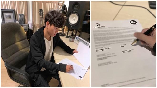 Fan Việt hãnh diện: Hoaprox chính thức kí hợp đồng với Spinnin Records, về chung nhà với KSHMR, Hardwell, Tiesto,...! - Ảnh 2.