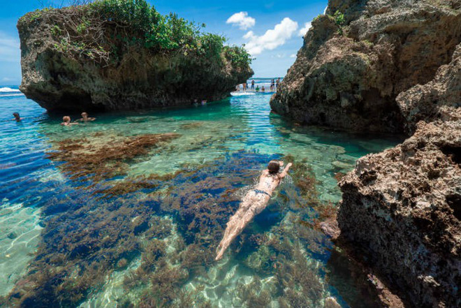 Vượt qua cả Bali và Hawaii, ốc đảo hình giọt nước kỳ lạ ở Philippines được tạp chí Mỹ bình chọn đẹp nhất thế giới - Ảnh 24.