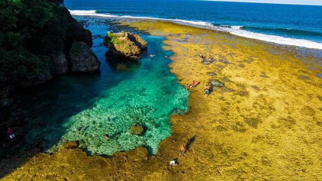 Vượt qua cả Bali và Hawaii, ốc đảo hình giọt nước kỳ lạ ở Philippines được tạp chí Mỹ bình chọn đẹp nhất thế giới - Ảnh 21.