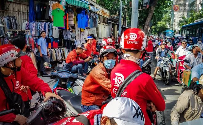 Đại diện Go-Viet lên tiếng khi hàng trăm tài xế ở Sài Gòn tắt app, tập trung đình công phản đối chính sách mới - Ảnh 4.