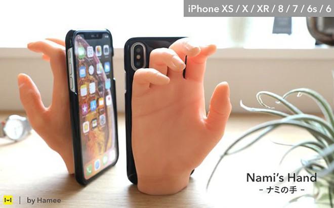 Phát minh độc dị của người Nhật: Ốp lưng iPhone bàn tay kỳ quái, trông ghê mà có ích ra phết - Ảnh 3.