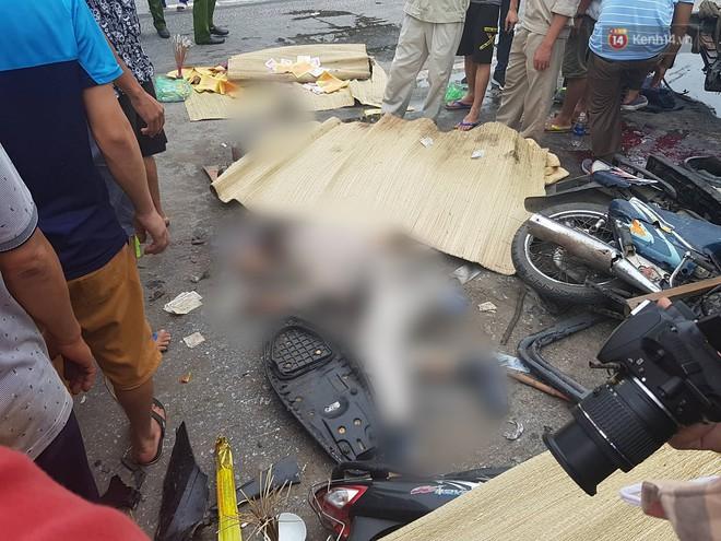 Ảnh: Hiện trường đầy ám ảnh vụ tai nạn khiến ít nhất 6 người tử vong tại Hải Dương - Ảnh 9.