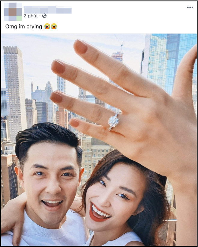 Netizen phấn khích trước màn cầu hôn tại Mỹ của Đông Nhi và Ông Cao Thắng, liên tục réo gọi cặp đôi sớm cử hành hôn lễ - Ảnh 2.
