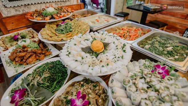 Quán chay tuỳ tâm độc nhất vô nhị ở Sài Gòn: ăn tuỳ bụng, trả tiền tuỳ… khả năng - Ảnh 3.