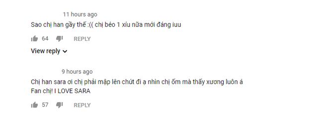 Tung MV mới Đếm Cừu, Han Sara làm fan lo sốt vó vì lộ thân hình quá gầy gò, vòng 1 thua cả Kay Trần? - Ảnh 5.