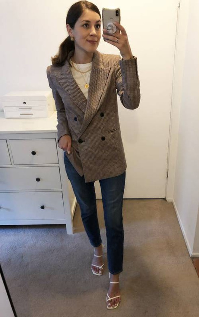 """Mua 5 chiếc blazer bán chạy nhất dịp đầu thu, nàng BTV còn gợi ý cả cách lên đồ """"xịn sò"""" cho từng thiết kế - Ảnh 4."""