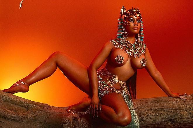 MXH Hàn dậy sóng vì Nicki Minaj lộ ảnh quá khứ lép xẹp, khác một trời một vực so với body ngồn ngộn hiện giờ - Ảnh 4.