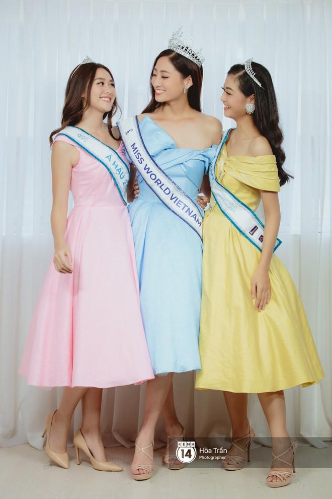 Top 3 Miss World Việt Nam 2019: Tân hoa hậu khẳng định không có ý định phẫu thuật thẩm mỹ, 2 á hậu gây thuyết phục bởi sự tự tin, khôn khéo - Ảnh 17.