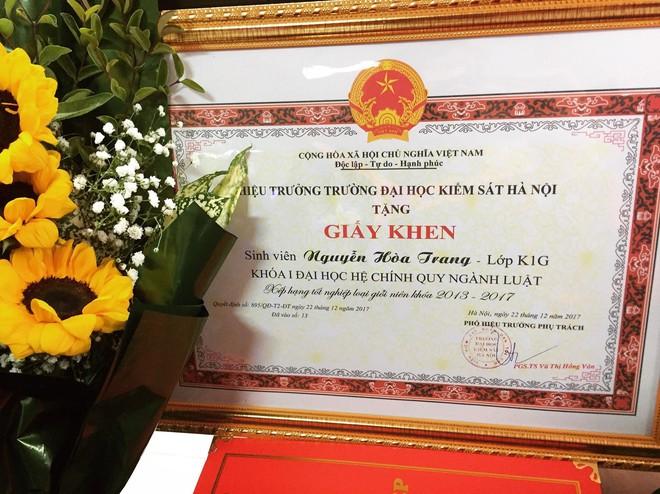 Cựu sinh viên ĐH Kiểm sát Hà Nội xinh chẳng kém gì hotgirl với nụ cười tỏa nắng nhìn là yêu - Ảnh 4.
