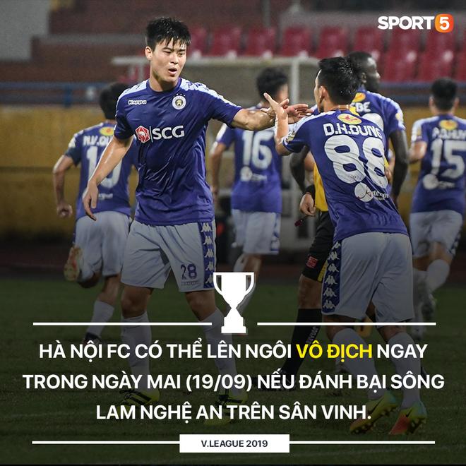 CLB Hà Nội có thể lên ngôi vô địch V.League 2019 ngay trong ngày mai (19/09): Thầy Park cũng có lý do để mừng thầm - Ảnh 1.