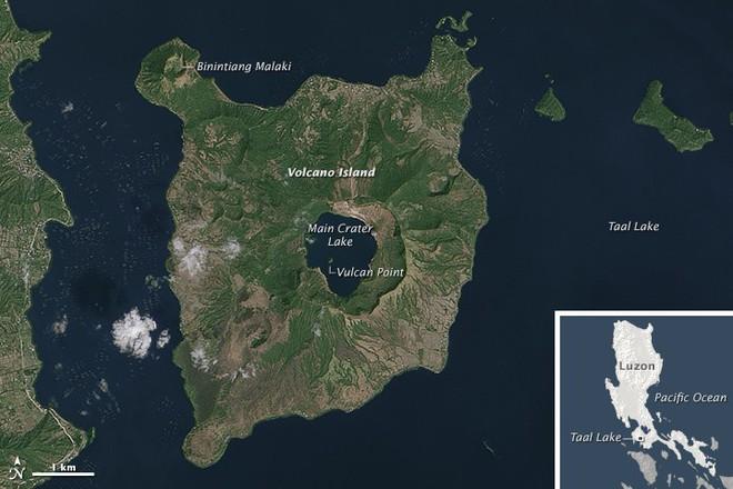 4 hồ nước bí ẩn nhất thế giới: Cái mơ mộng nên thơ, nơi ẩn chứa hàng trăm bộ xương người rùng rợn Taal-15693869074161163688540
