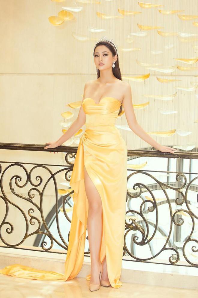"""Đụng váy với HH Lương Thùy Linh: Kỳ Duyên tự hào khoe dáng """"mặc size S còn rộng"""" - Ảnh 4."""