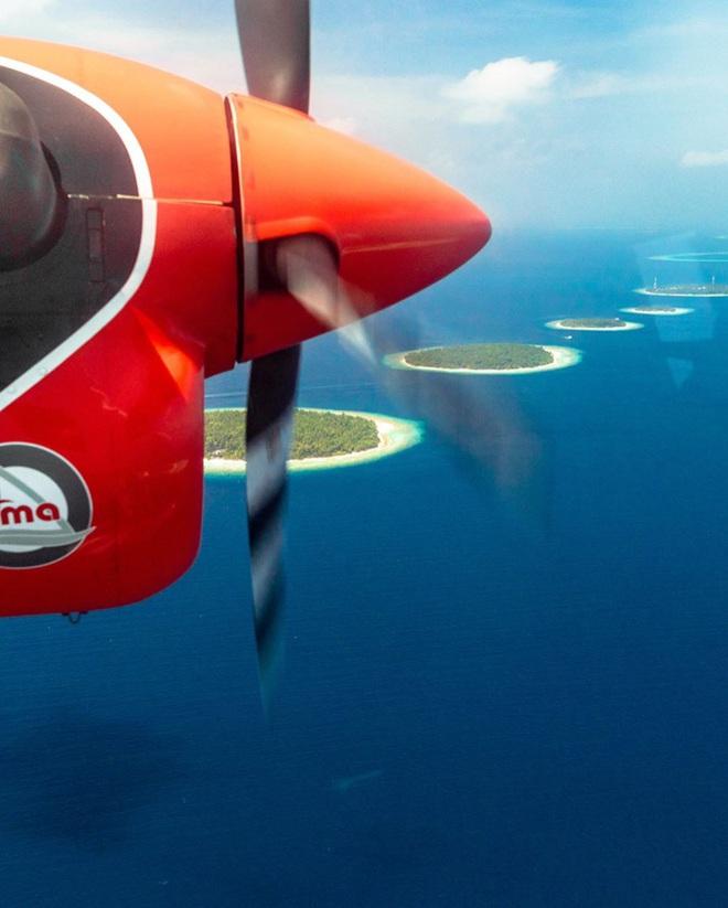 """Muốn biết bàn tay mẹ thiên nhiên kỳ diệu thế nào, cứ nhìn vào 5 hòn đảo """"nằm thẳng tắp thành 1 hàng"""" ở Maldives này sẽ rõ! - Ảnh 11."""