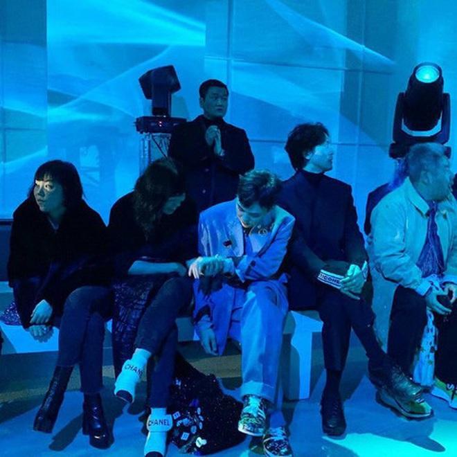 G-Dragon (BIGBANG) gây náo loạn ở Paris, lần đầu dự sự kiện quốc tế bên anh rể tài tử để ủng hộ chị gái - Ảnh 7.