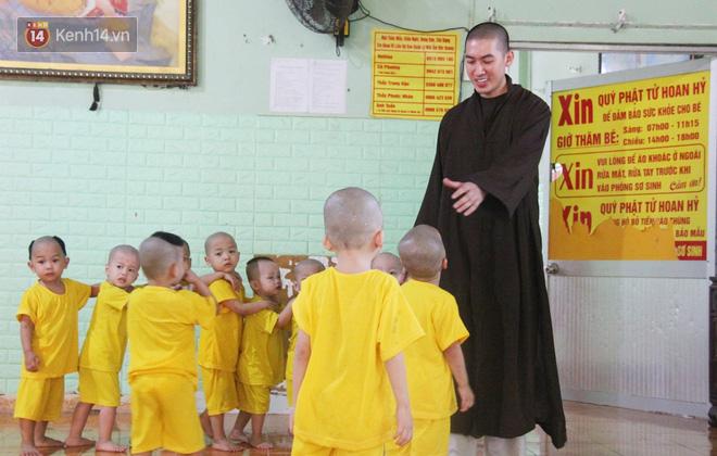 Cuộc sống hiện tại của 110 đứa trẻ bị bố mẹ bỏ rơi ở mái ấm Đức Quang sau khi bé Đức Lộc về với cửa Phật - Ảnh 2.