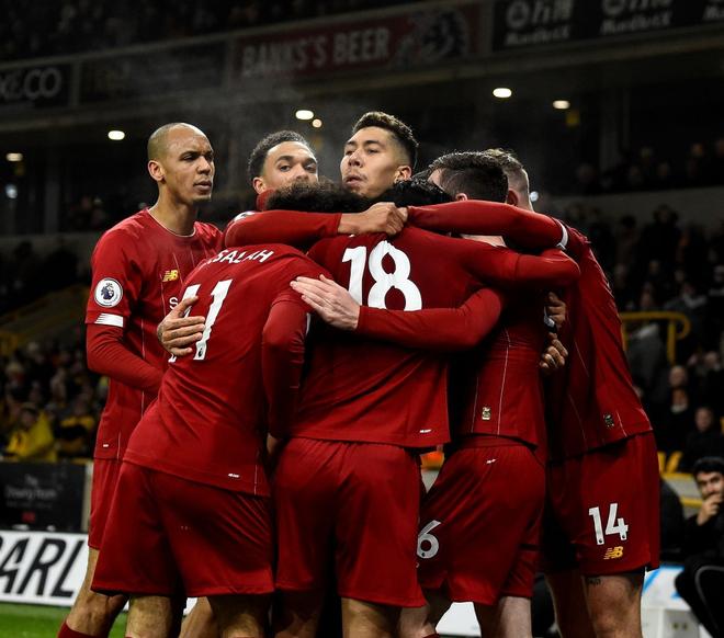 Xé lưới Wolves ở những phút cuối cùng, Firmino giúp Liverpool giữ vững ngôi đầu bảng Ngoại hạng Anh - Ảnh 8.