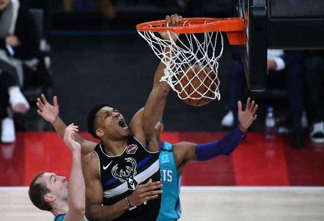 Dàn sao Paris Saint-Germain hội tụ cùng những huyền thoại bóng rổ thế giới trong trận đấu NBA Paris Match 2020 - Ảnh 11.