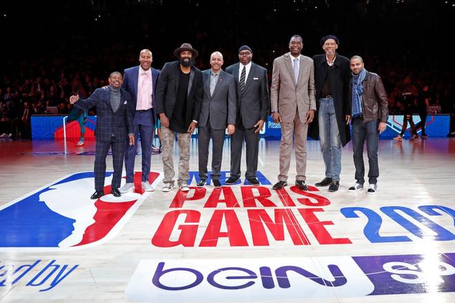 Dàn sao Paris Saint-Germain hội tụ cùng những huyền thoại bóng rổ thế giới trong trận đấu NBA Paris Match 2020 - Ảnh 3.