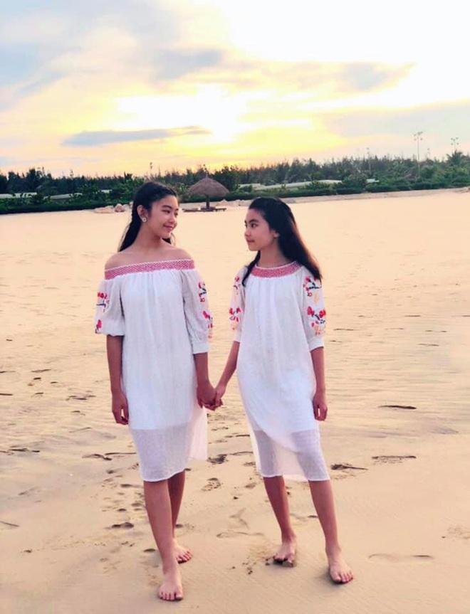 2 công chúa nhà Quyền Linh: Cô chị ra dáng Hoa hậu, cô em cũng cao lớn vượt trội chuẩn mỹ nhân Vbiz tương lai  - Ảnh 6.