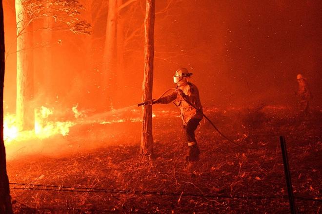 Đại thảm họa cháy rừng Úc nhìn từ không gian: Cả nước như quả cầu lửa, những mảng xanh trù phú bị thay bằng màu khói trắng tang thương - Ảnh 18.
