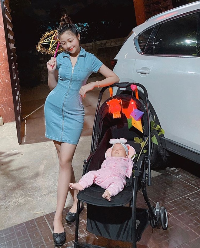 Nhật Linh khoe dáng nuột nà đi chơi Trung thu, than thở khi bị người lạ tán tỉnh và hiểu nhầm là độc thân - ảnh 2