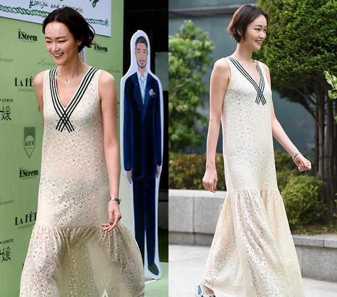 Sao Hàn nhận mưa mắng bão chửi vì diện sai đồ đi ăn cưới: Đồ trắng, đồ chóe, đồ ngắn đều bị ném đá - ảnh 3