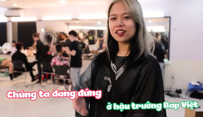 Tlinh - MCK ôm nhau kề má tình cảm phát hờn trong hậu trường Rap Việt! - ảnh 3