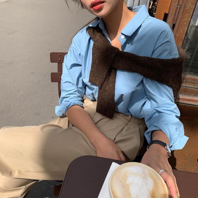 Copy 5 công thức này, đảm bảo bạn mặc cardigan xinh yêu như gái Hàn - Ảnh 5.
